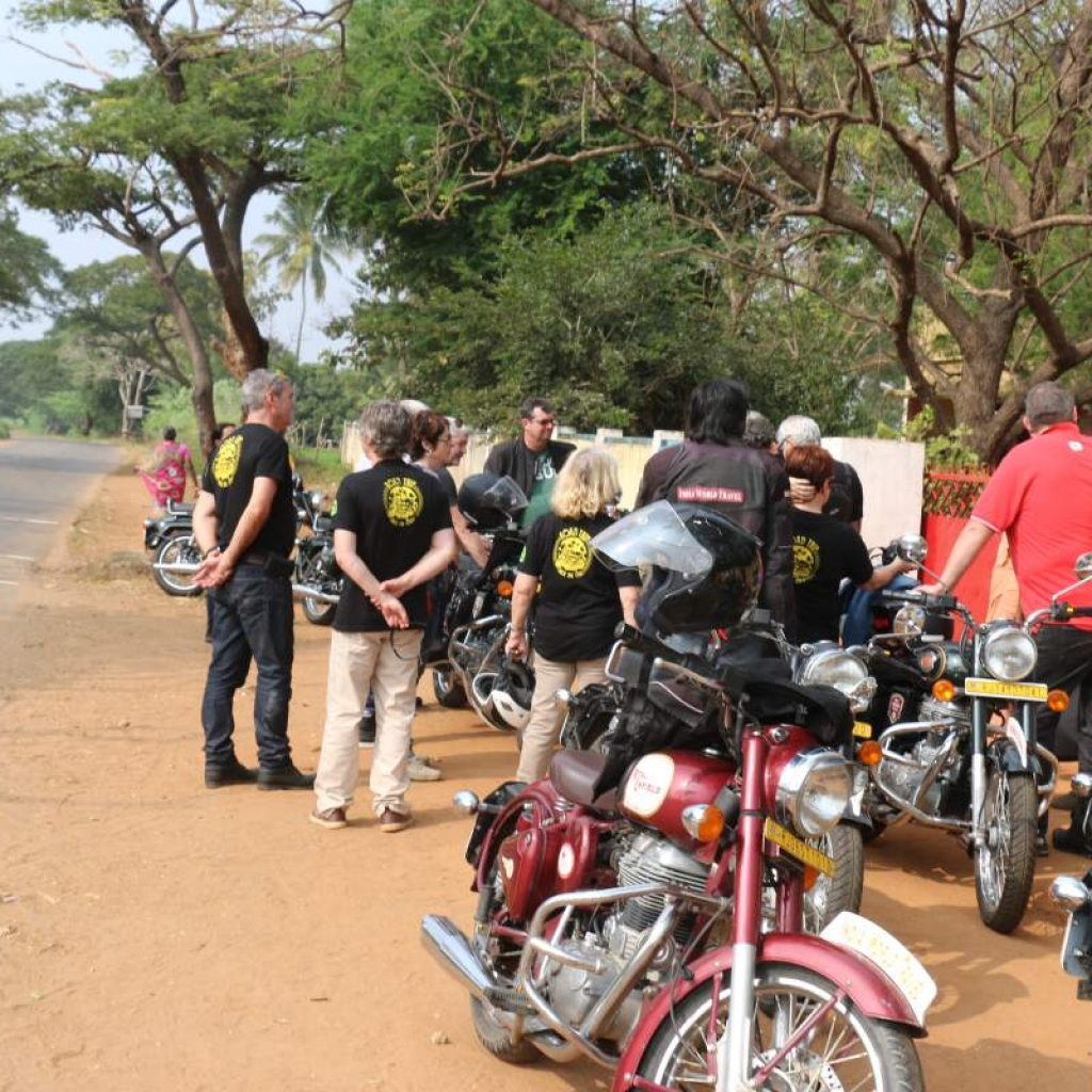 Motorcycle Trip India- South India
