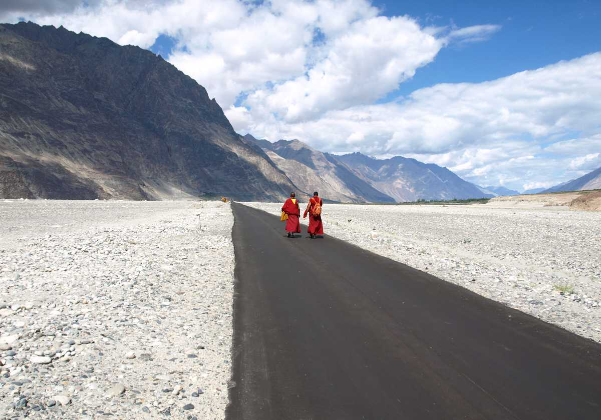 Ladakh Bike Trip-Nubra Valley