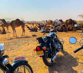 Rajasthan motorcycle adventure journey with Indian Rides